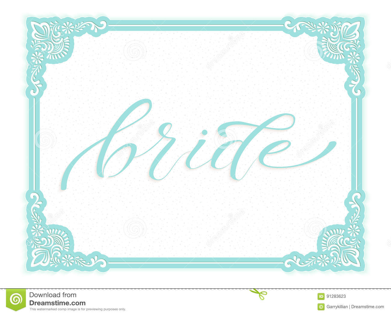 Elegant kort för vektorbröllopinbjudan Solig vårbakgrund Brudbokstäver