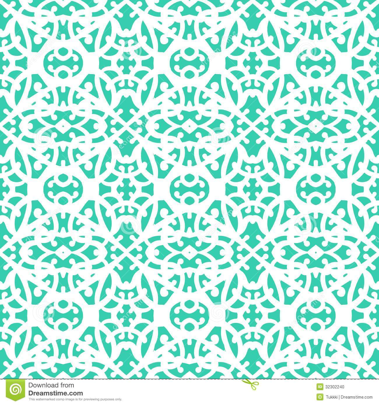 b1b13622986 Simple elegant lace pattern with white lines on aqua blue background in art  deco style. Texture for web