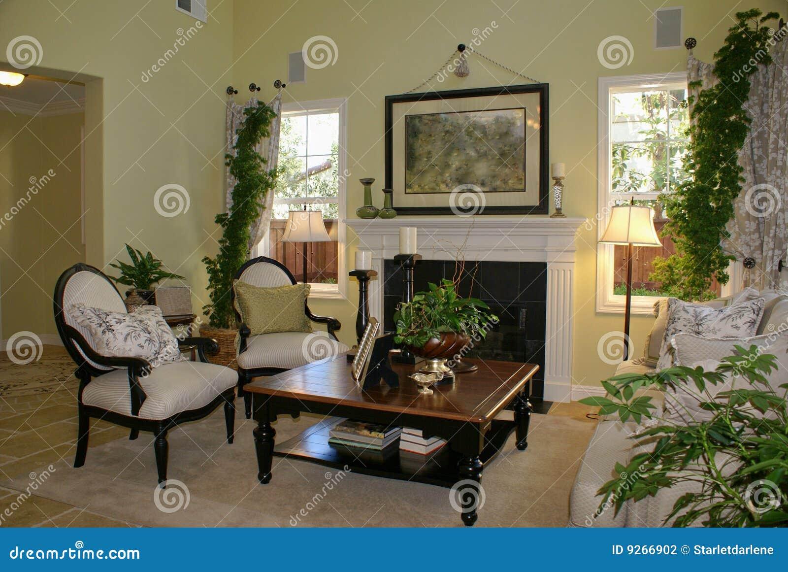 Elegant Living Room Stock Photography Image 9266902