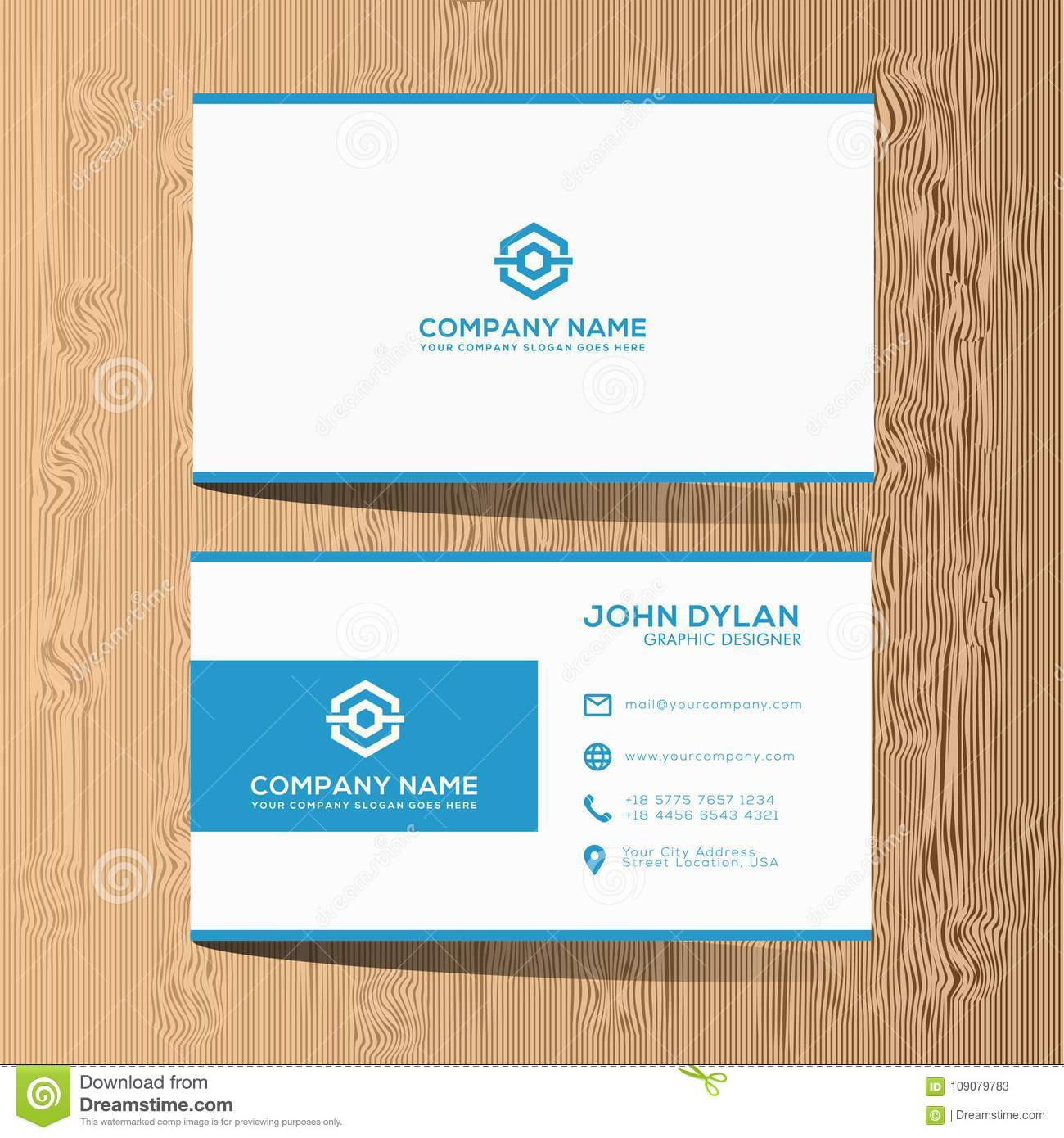 this is elegant luxury modern and classy business card template that can use for many company or many corporate - Classy Business Cards