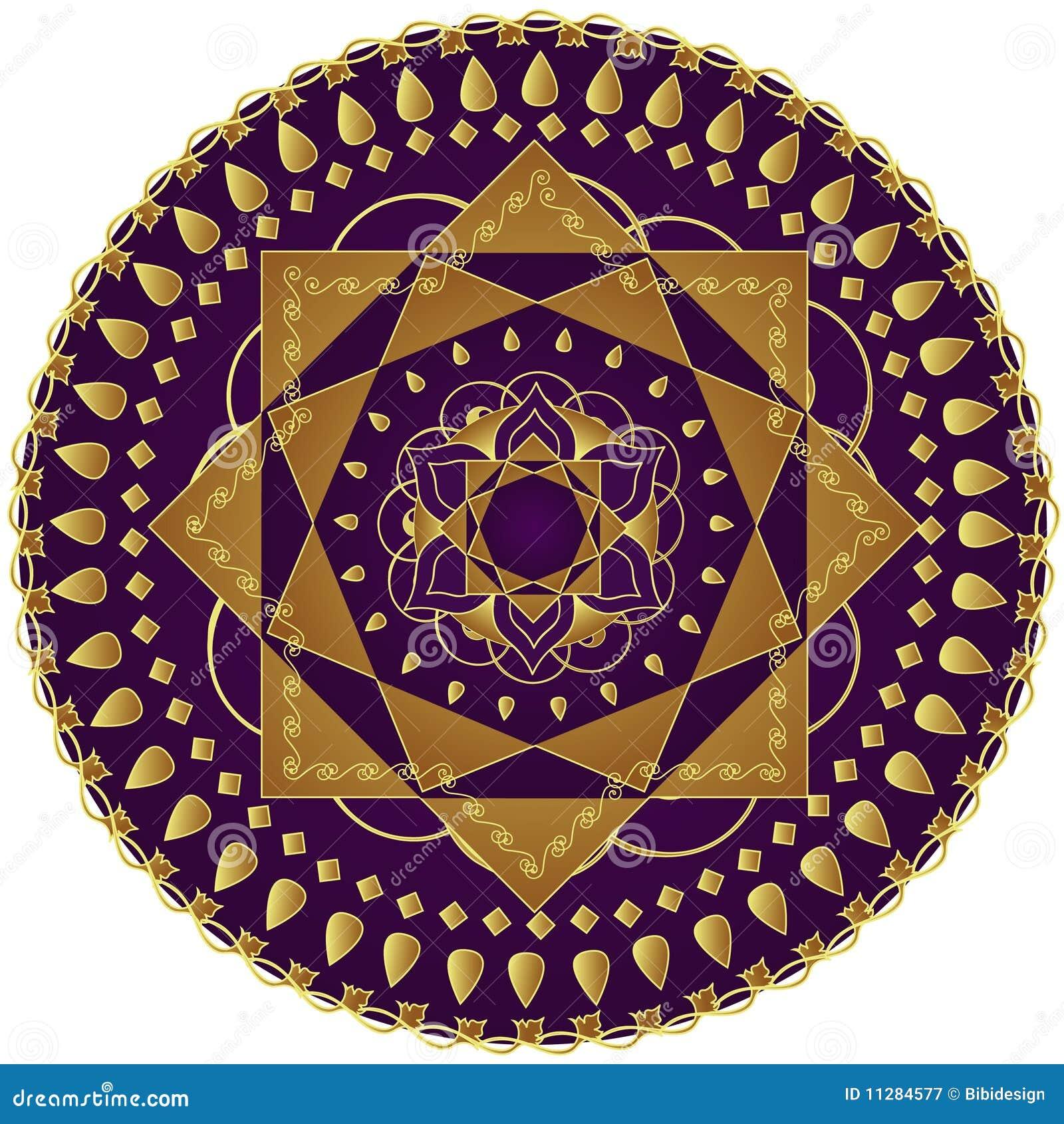 Elegant Mandala Royalty Free Stock