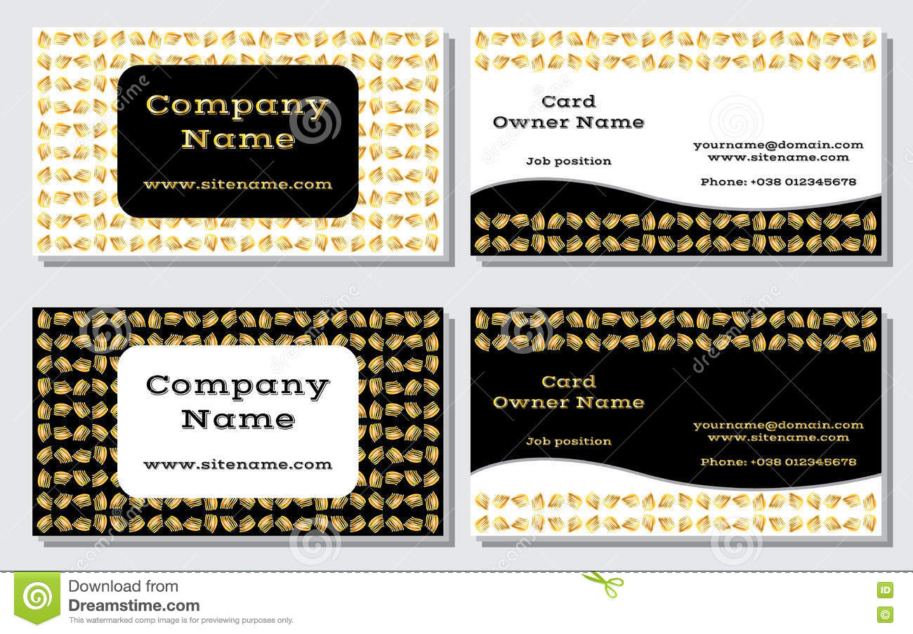 Elegant And Modern Business Card The Refined Design A
