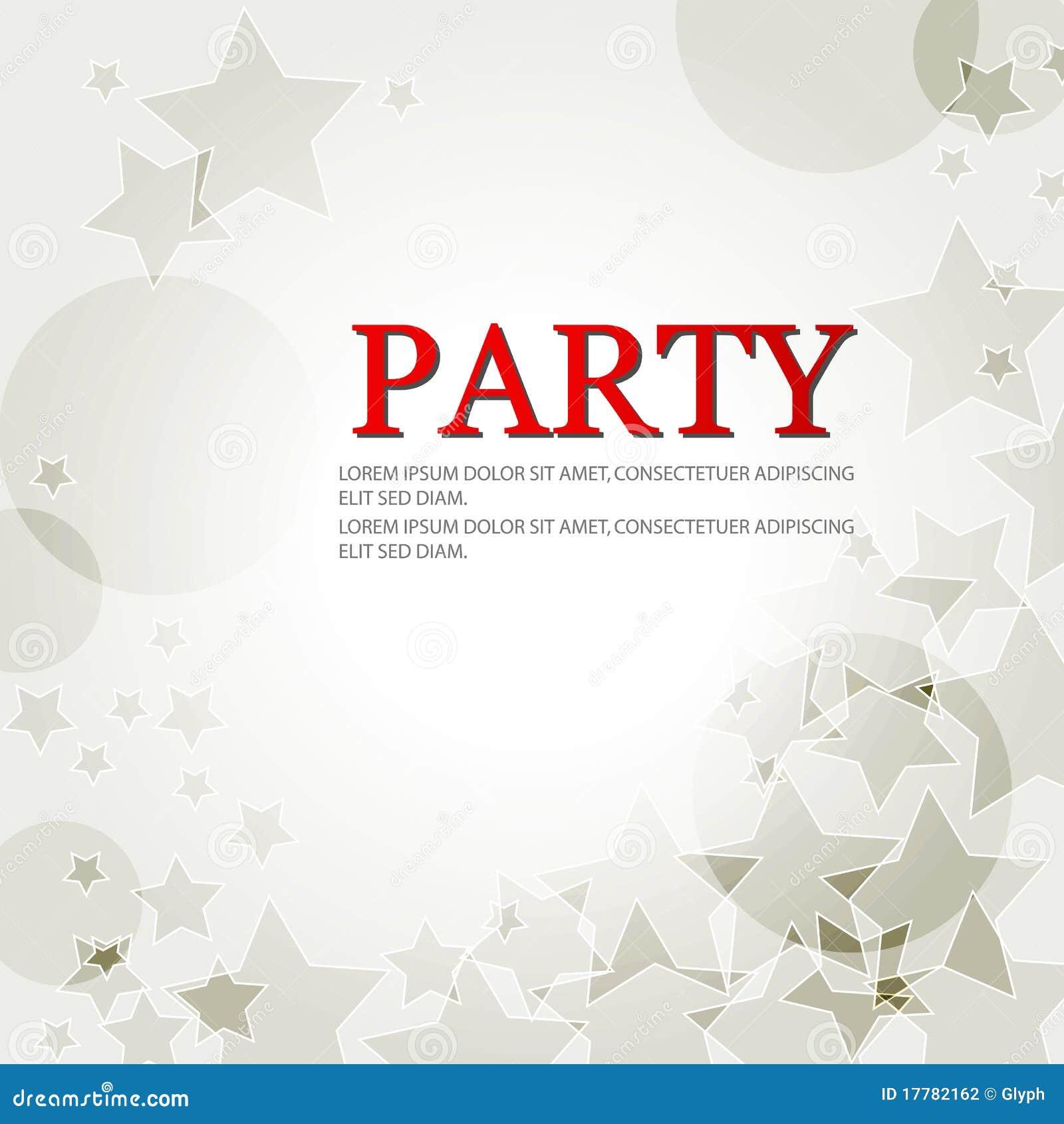 Elegant Birthday Backgrounds : Elegant Party Background With Stars Stock Photography - Image ...