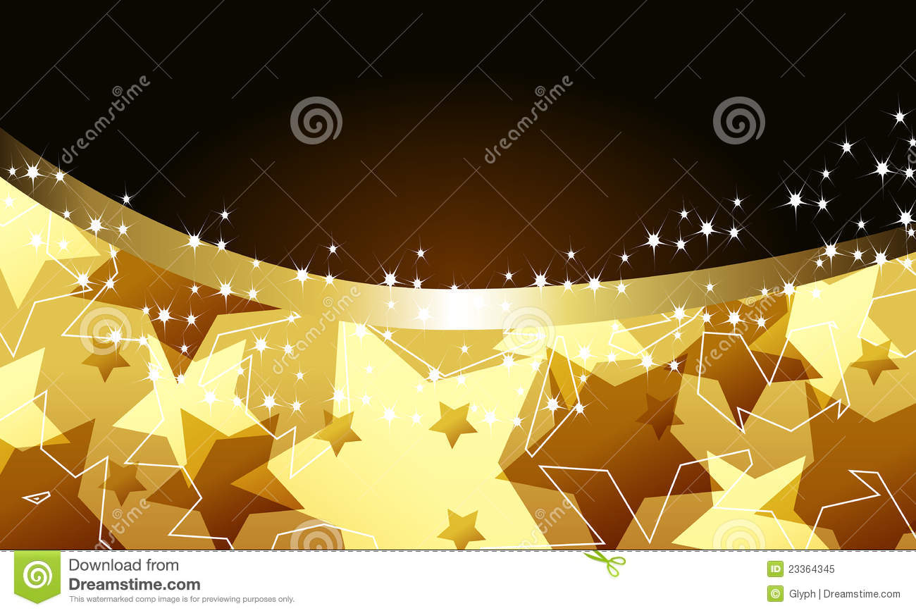 Elegant Party Background With Stars Stock Vector - Image ...