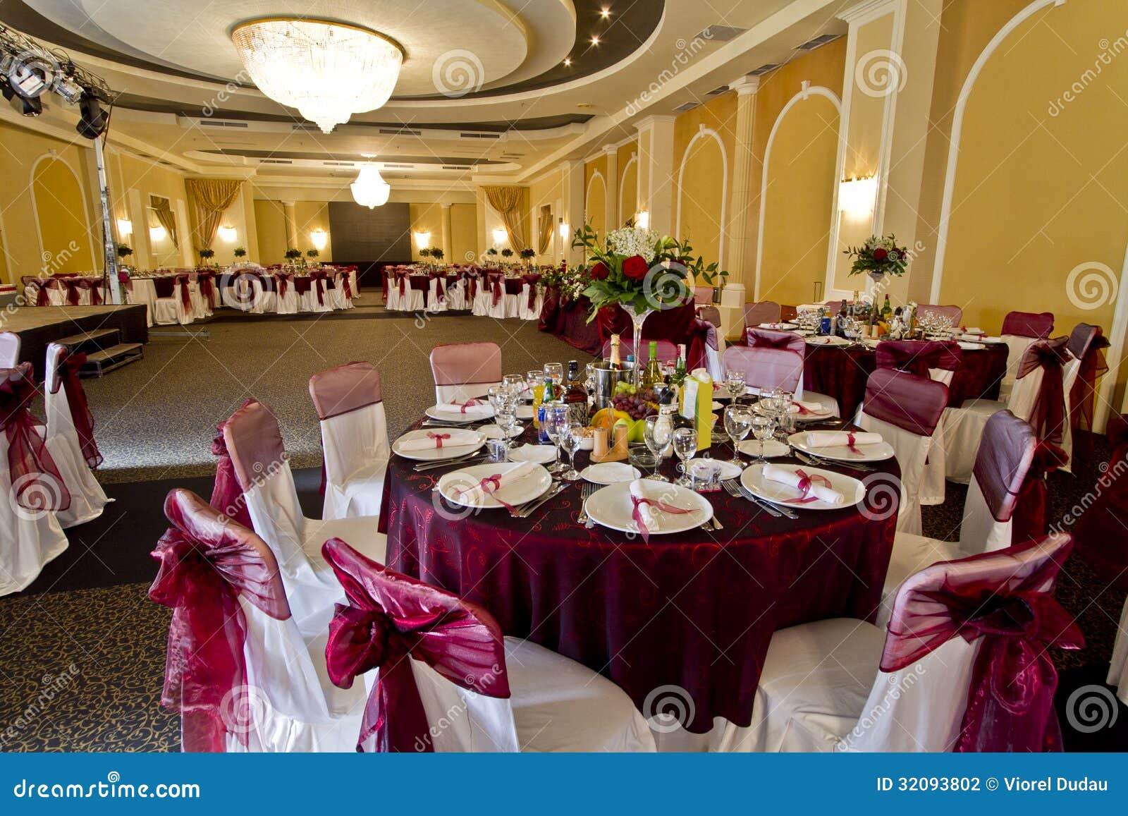 Elegant Party Hall Stock Photography Image 32093802