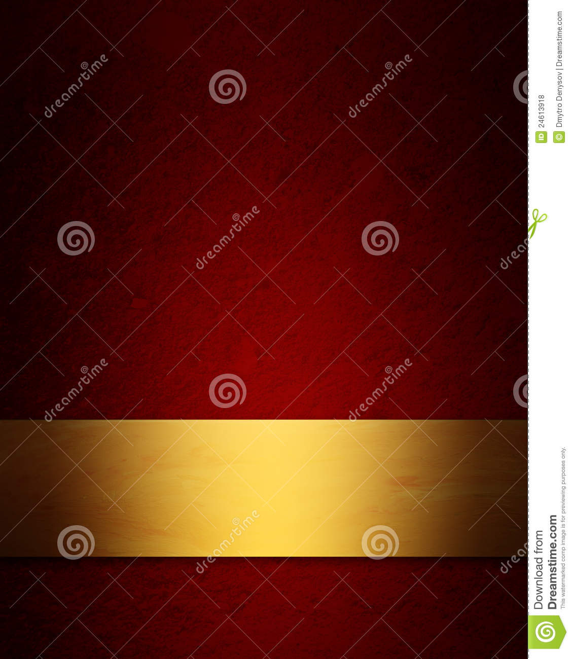 Elegant red and gold Christmas background with vintage grunge texture Elegant Red And Gold Background