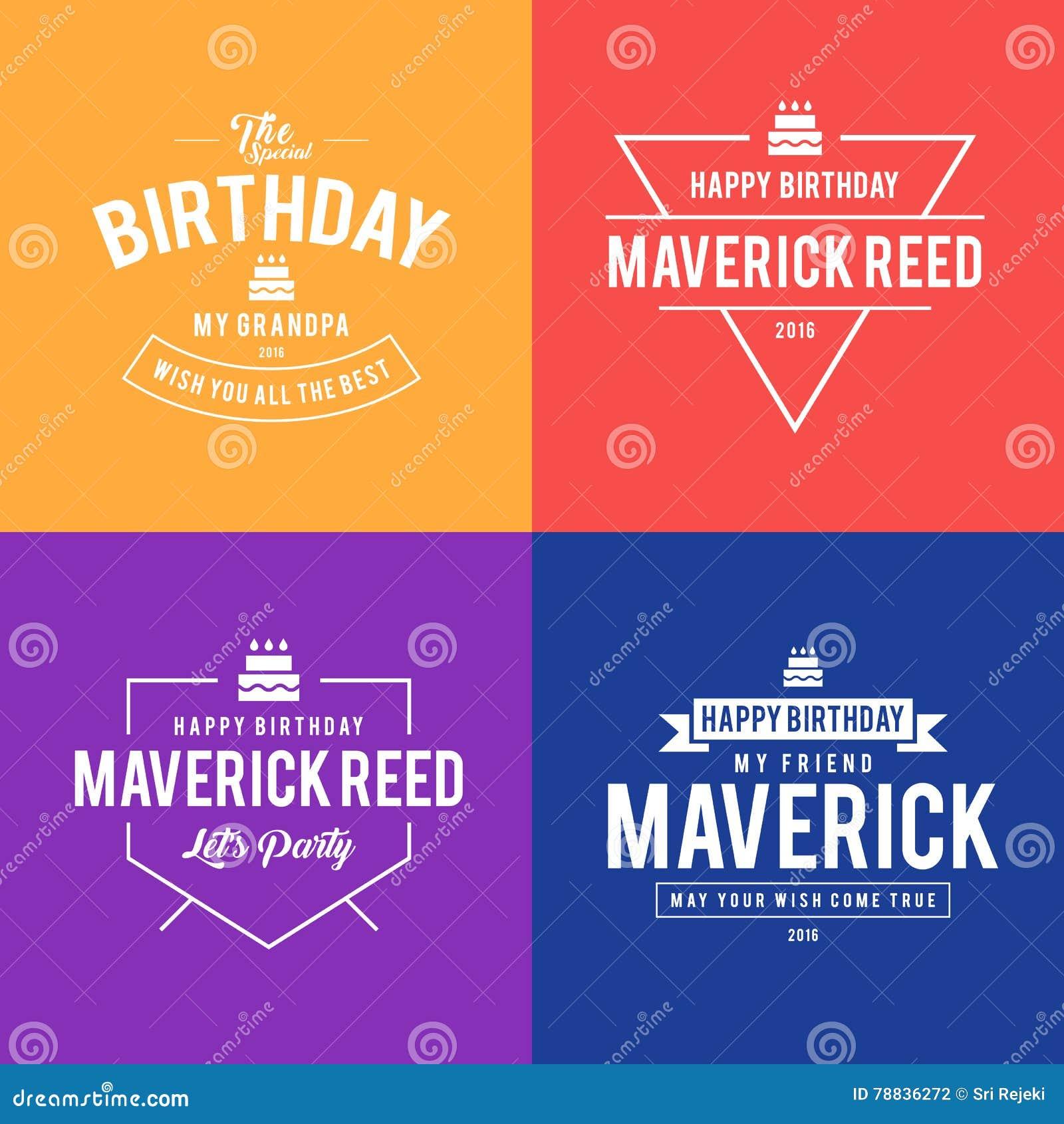 Elegant retro birthday greetings design concept stock vector elegant retro birthday greetings design concept m4hsunfo