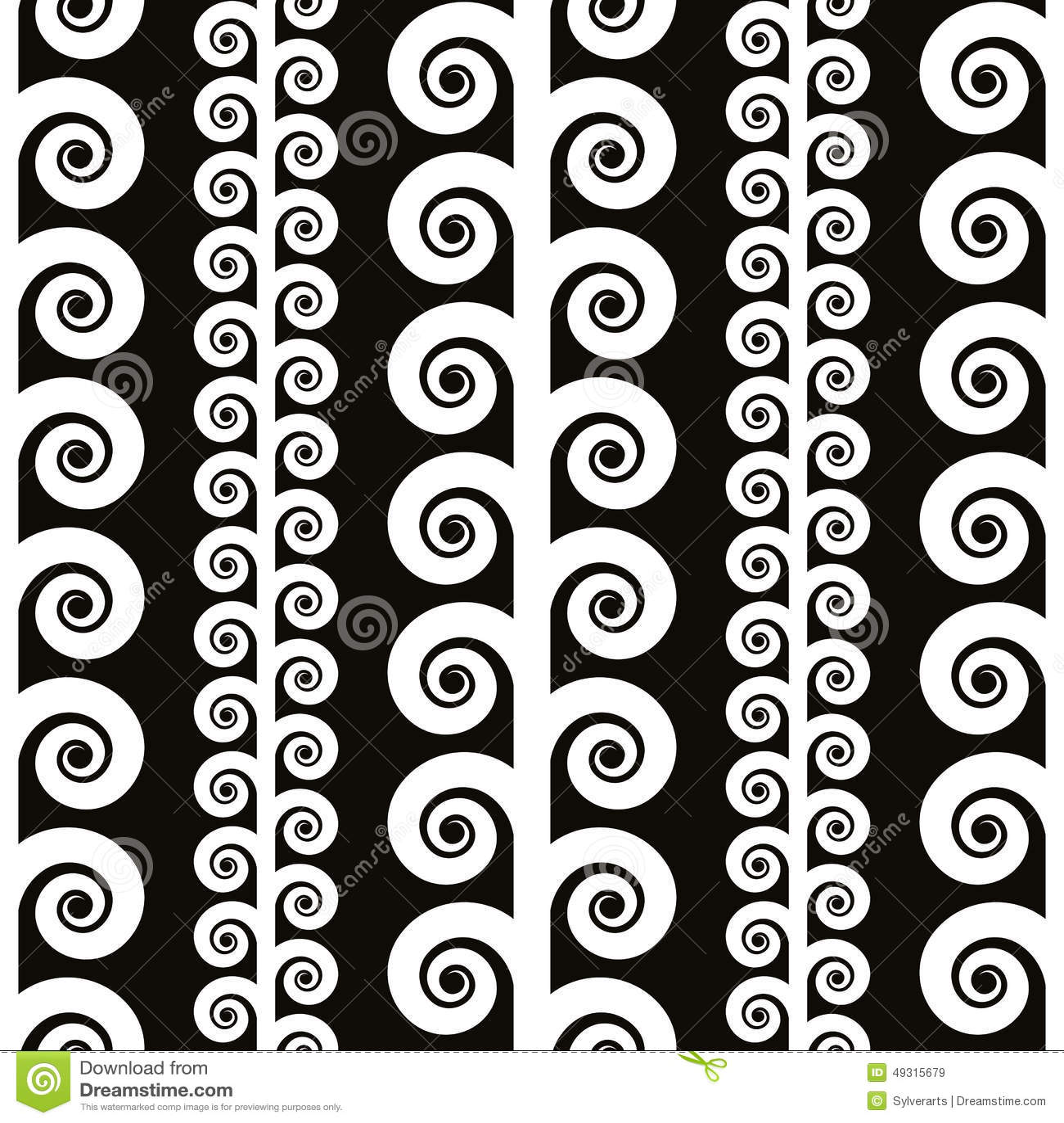 Elegant Seamless Pattern, Black And White Vector ...Black And White Elegant Backgrounds