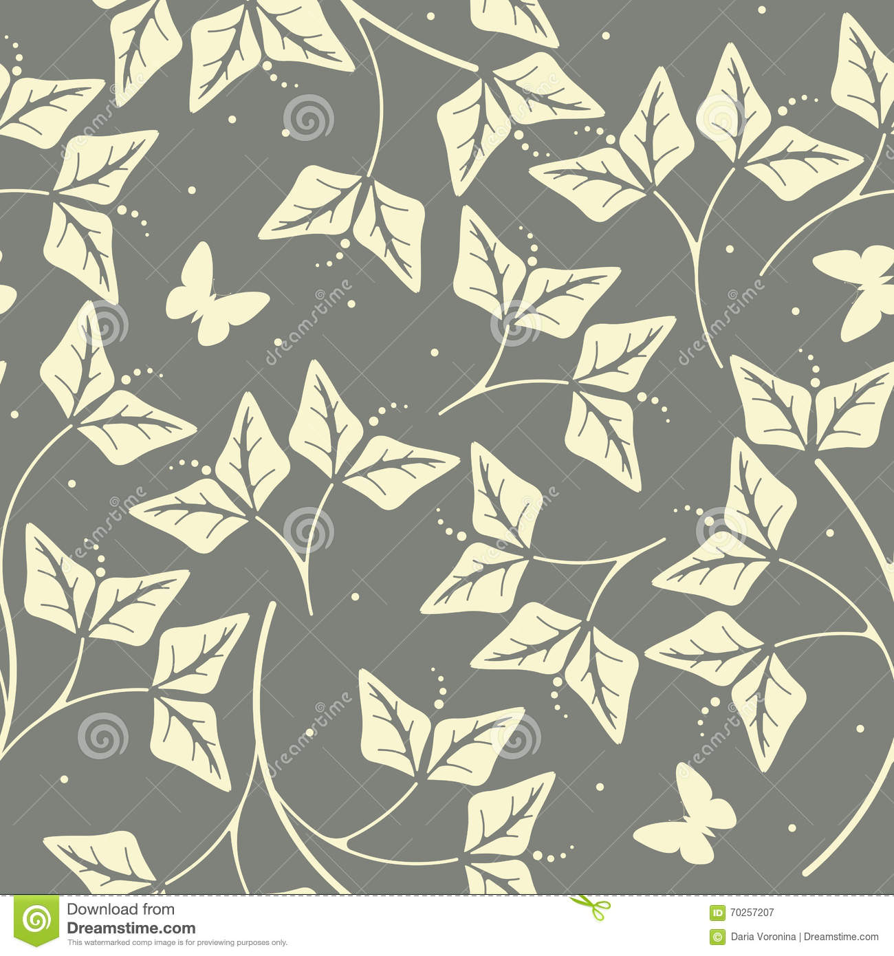 Elegant seamless pattern with petals and butterflies stock for Fabric for children s clothes