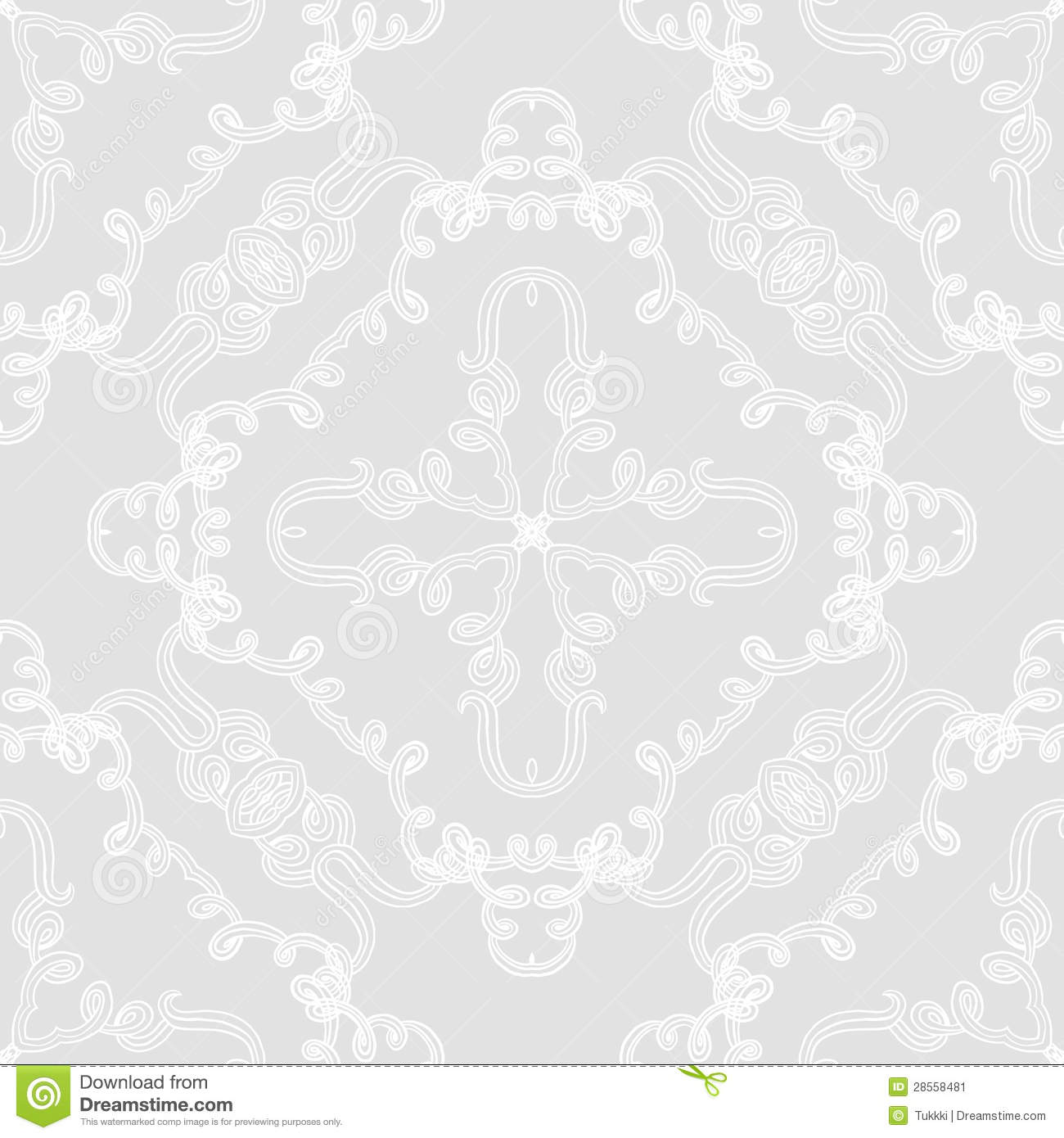elegant seamless vector pattern wedding wrapping stock vector