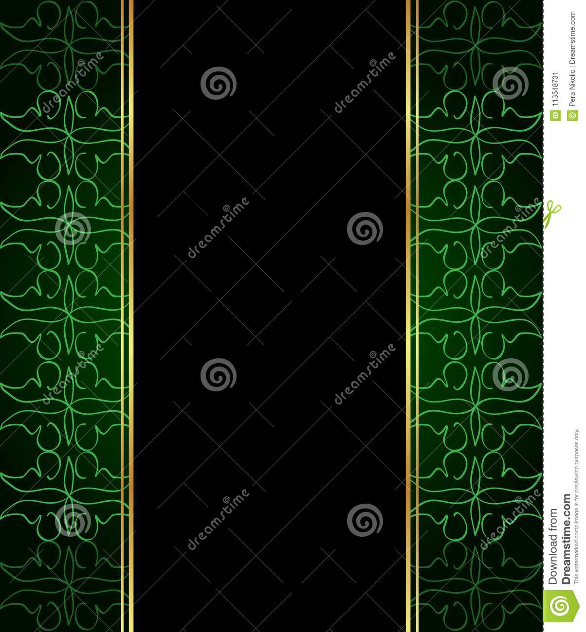 Elegant seamless wallpaper with golden fine decoration stock vector download elegant seamless wallpaper with golden fine decoration stock vector illustration of gala stopboris Gallery