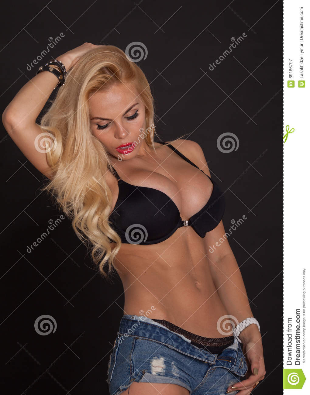 Message, Hot blonds ass