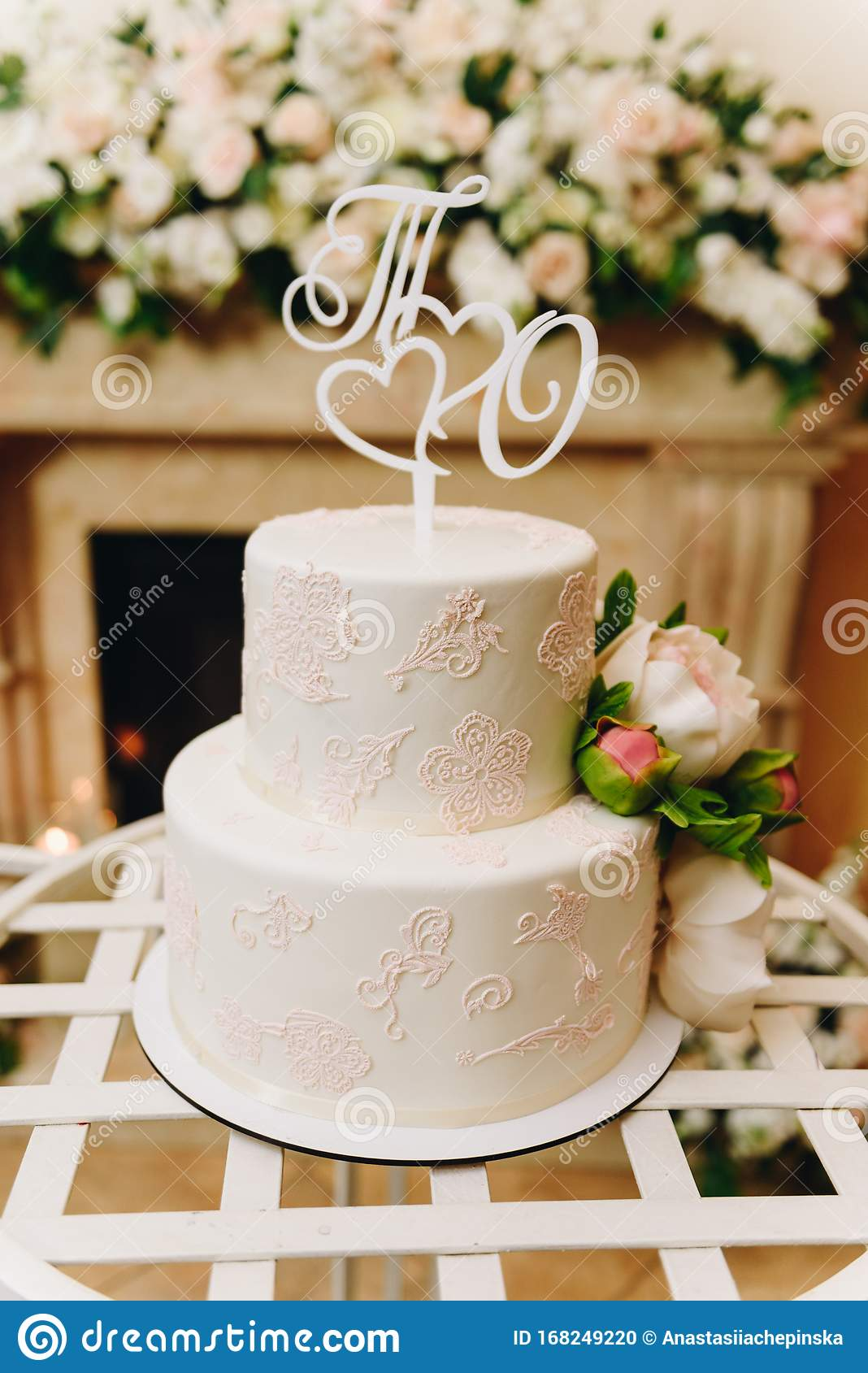 Elegant Simple Wedding Cake With An Ornate Topper Stock Photo Image Of Delicious Colorful 168249220,Minimalist Negative Space Logo Design