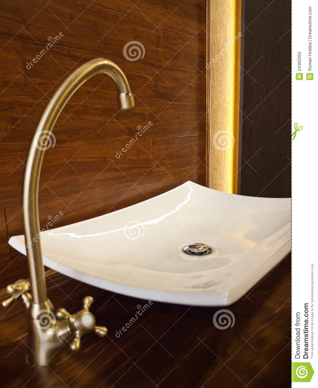 Elegant Bathroom Sinks: Elegant Sink Stock Image. Image Of Luxury, Ceramic