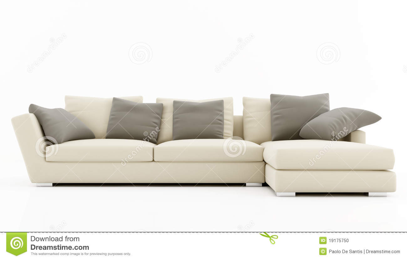 Elegant sofa stock illustration illustration of nobody - Sofas elegantes diseno ...