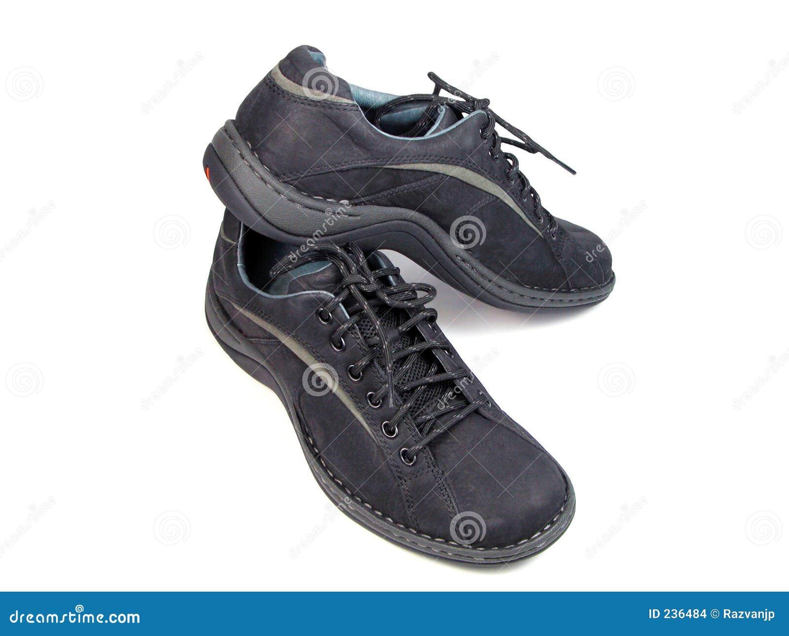 Elegant Sport Shoes Stock Images