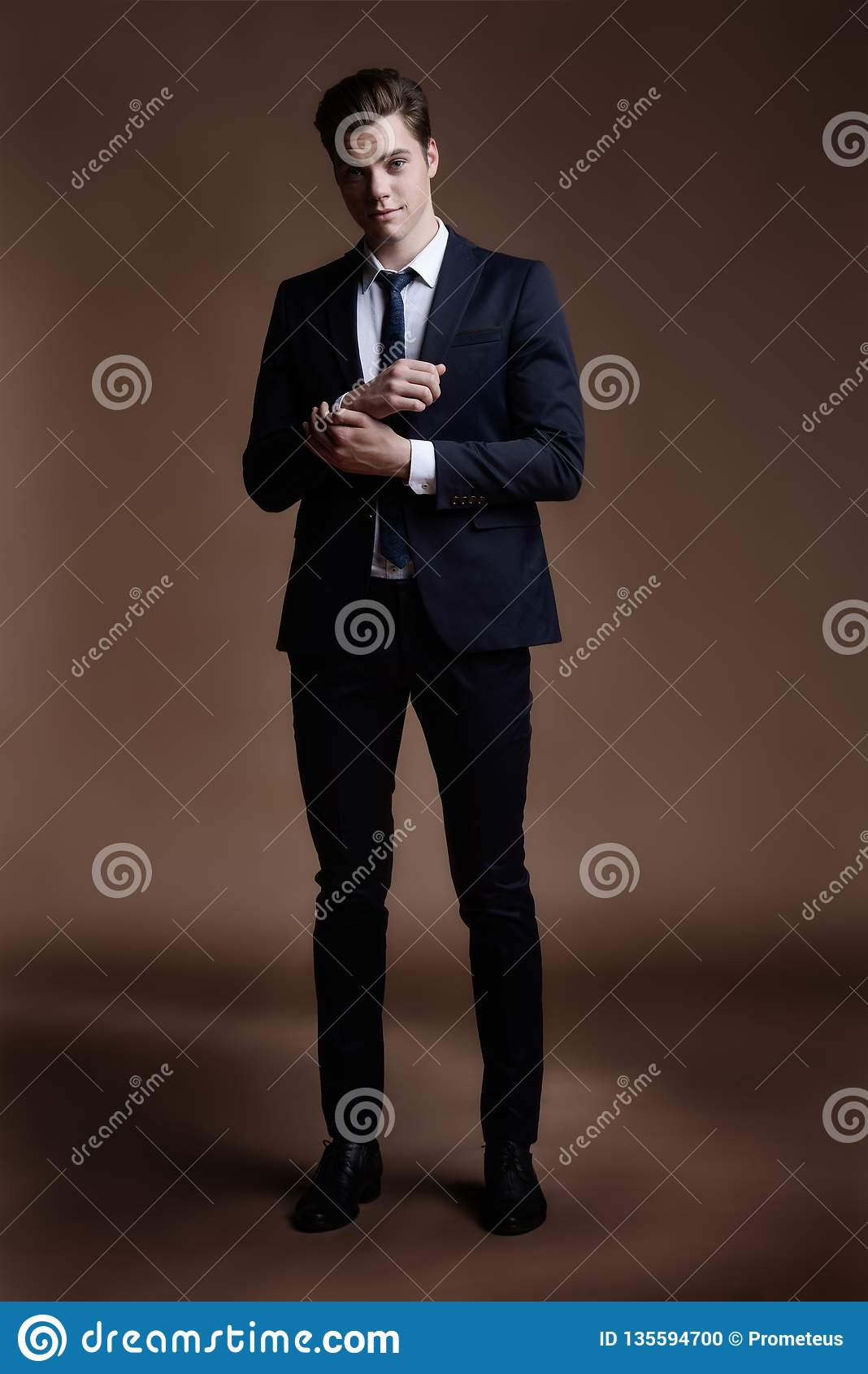 Elegant suit for dandy