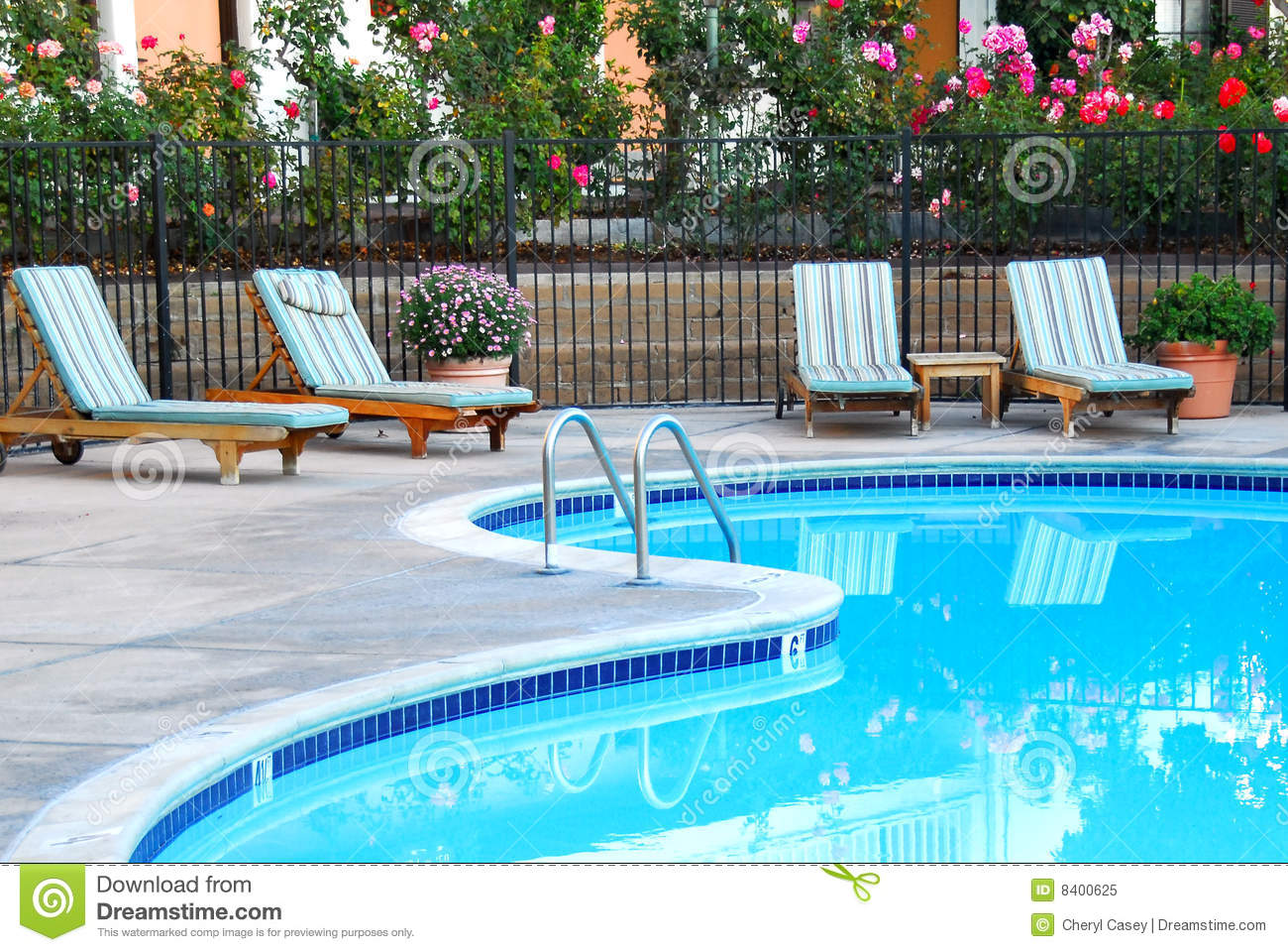 elegant swimming pool stock image image of recreation 8400625