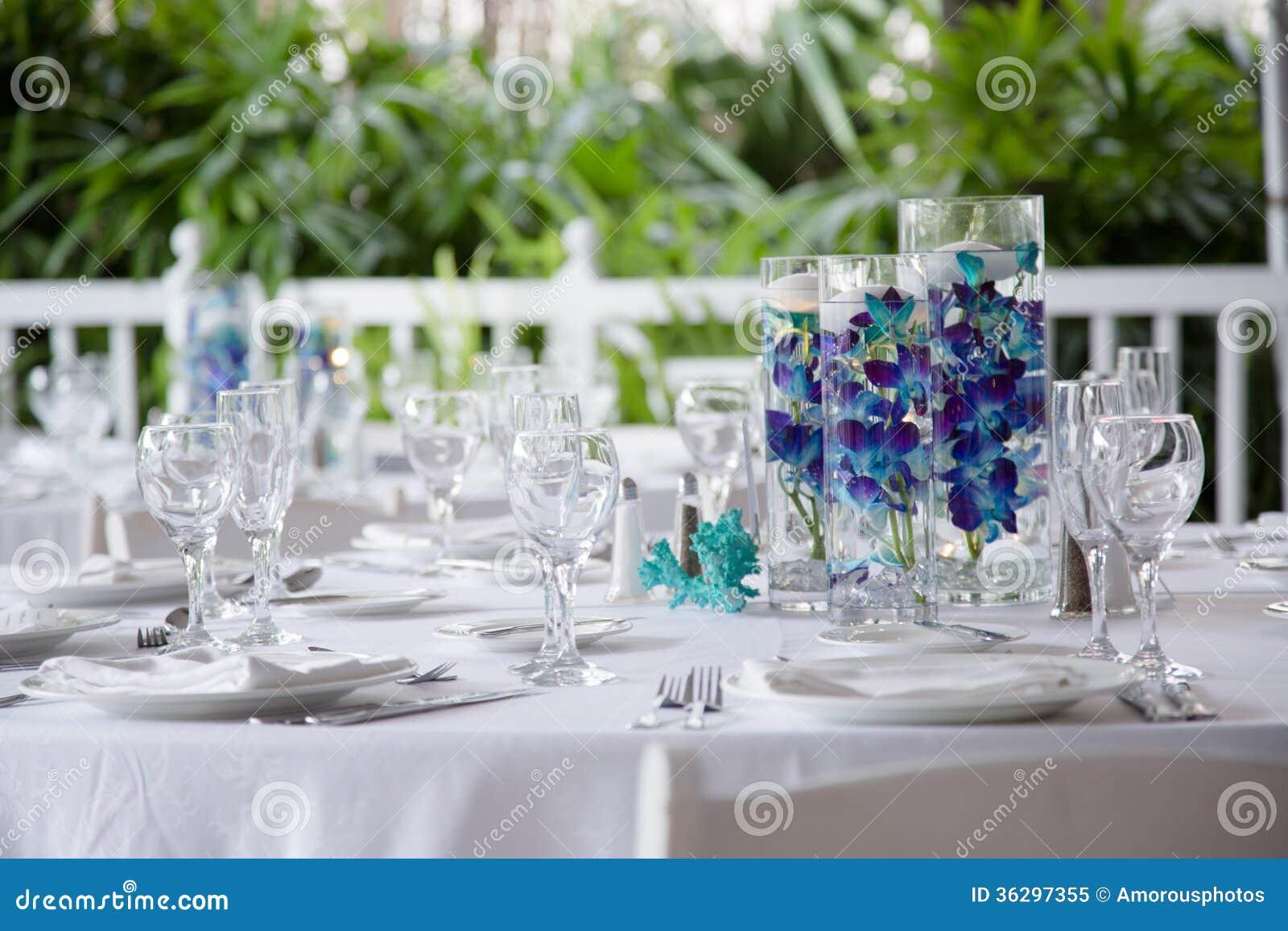 Elegant Table Setting Stock Image Image Of Elegance