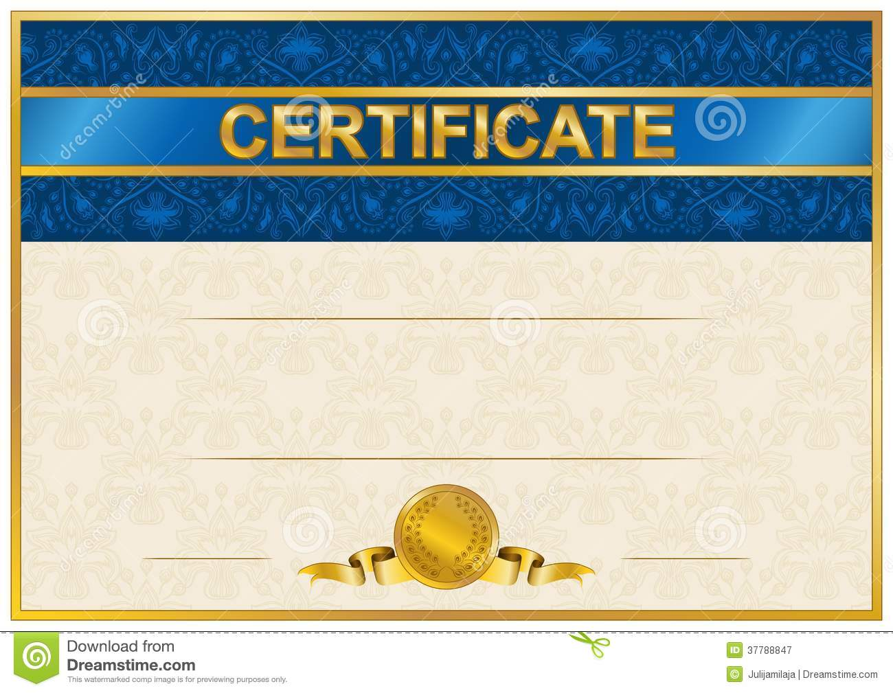 Elegant template of certificate diploma stock vector image royalty free stock photo download elegant template of certificate diploma stock vector yadclub Image collections