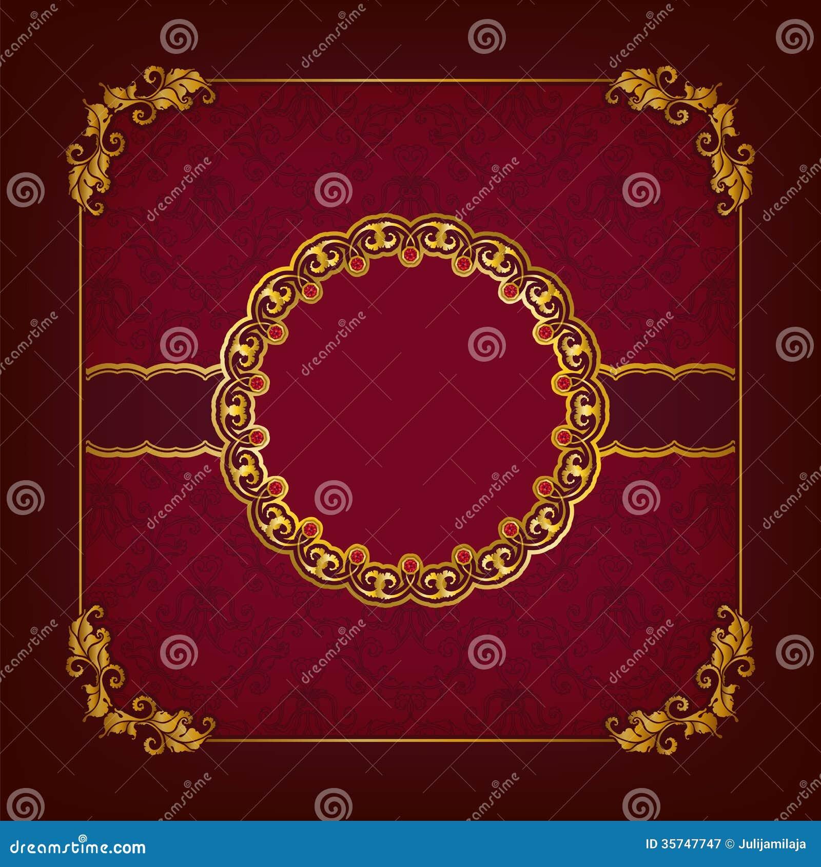 Elegant Template For Vip Luxury Invitation Royalty Free ...