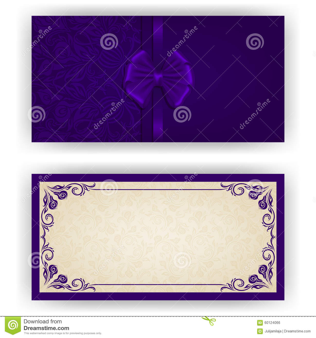 Wedding Gift Card Text : Elegant template for luxury wedding invitation, greeting, gift card ...