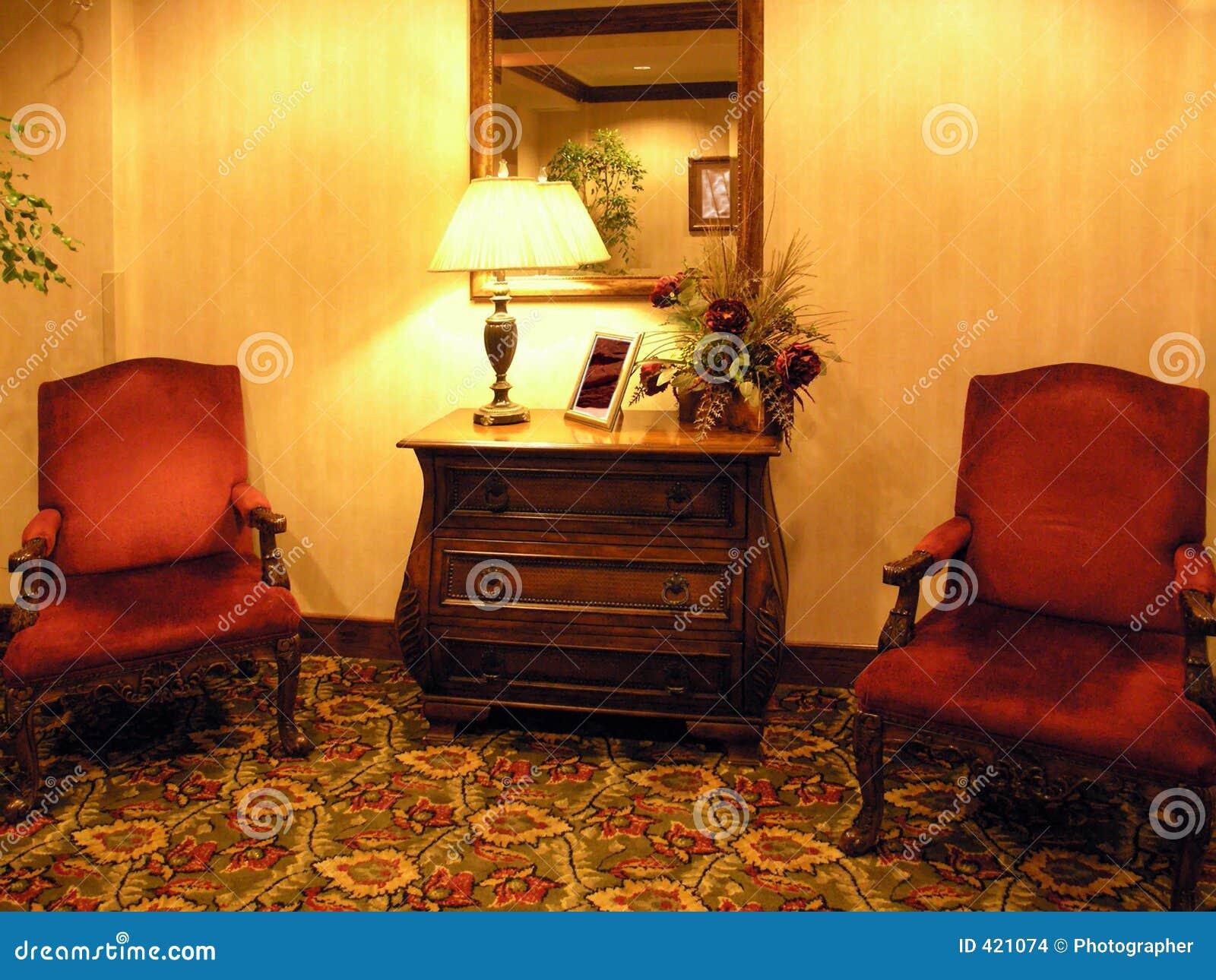 Elegant waiting area