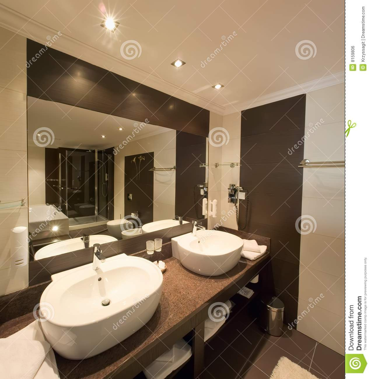 Elegant washroom stock photo image of architecture for Washroom designs pictures