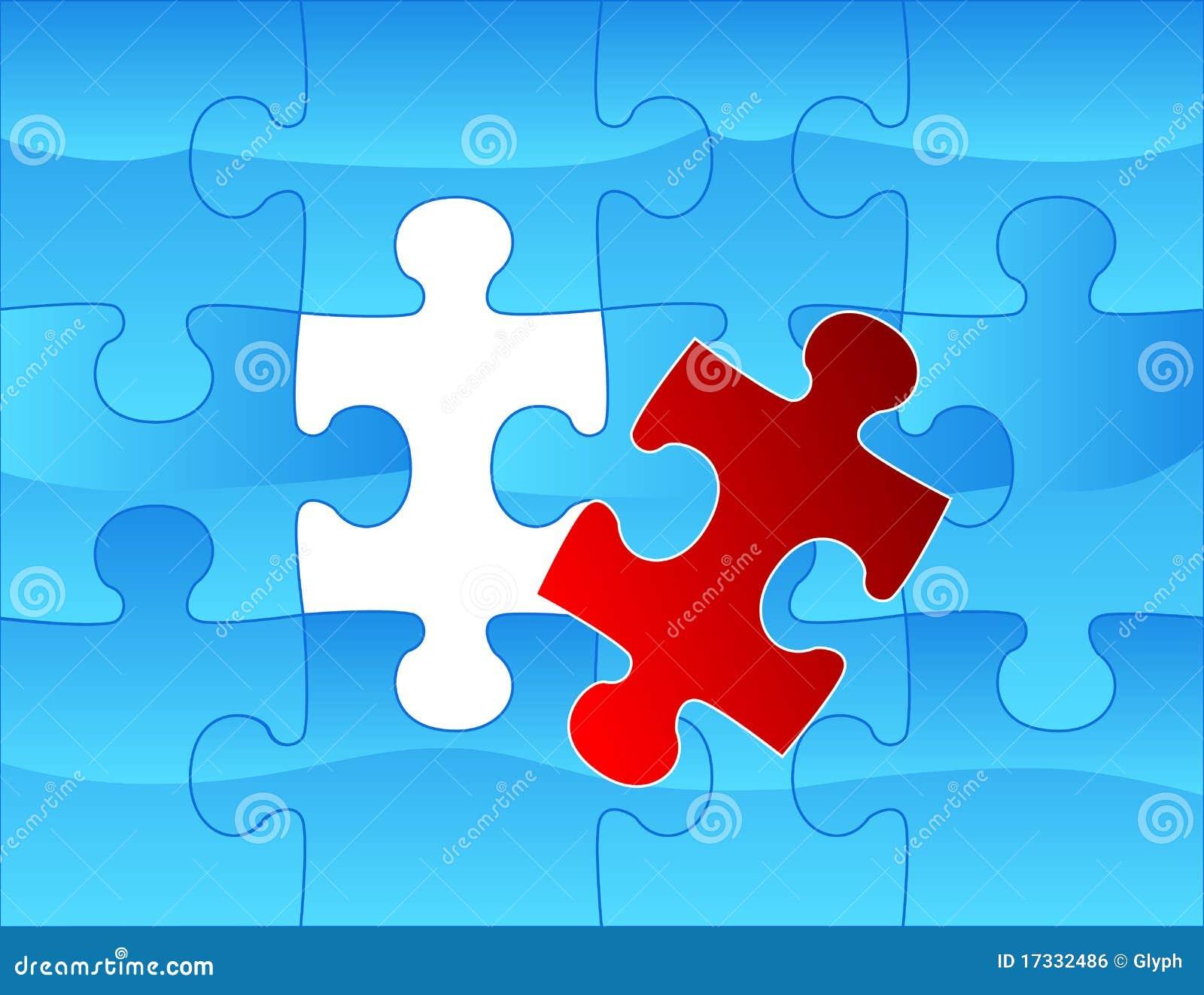 Elegant Web2 Style Puzzle Background Royalty Free Stock