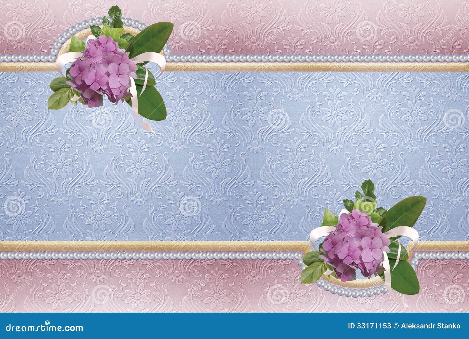 Elegant Wedding Backgrounds Stock Illustration - Illustration of