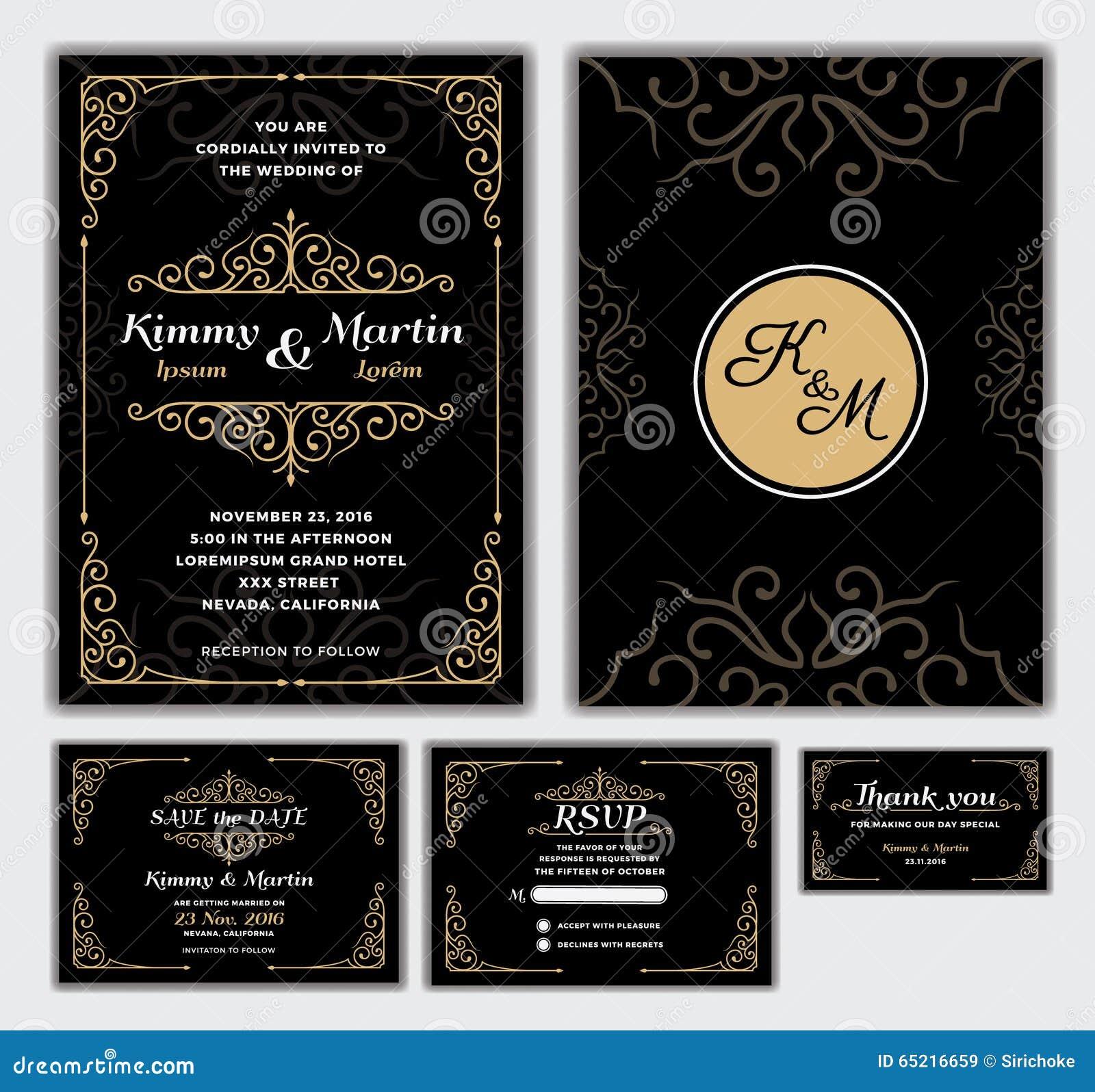 wedding invitations design templates
