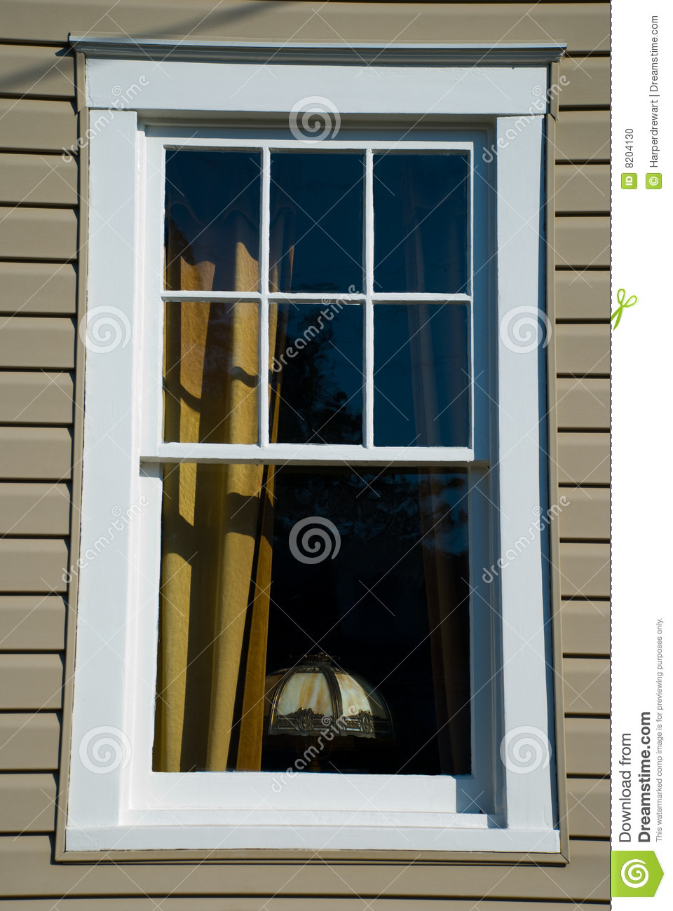 Elegant Window Stock Photo Image 8204130