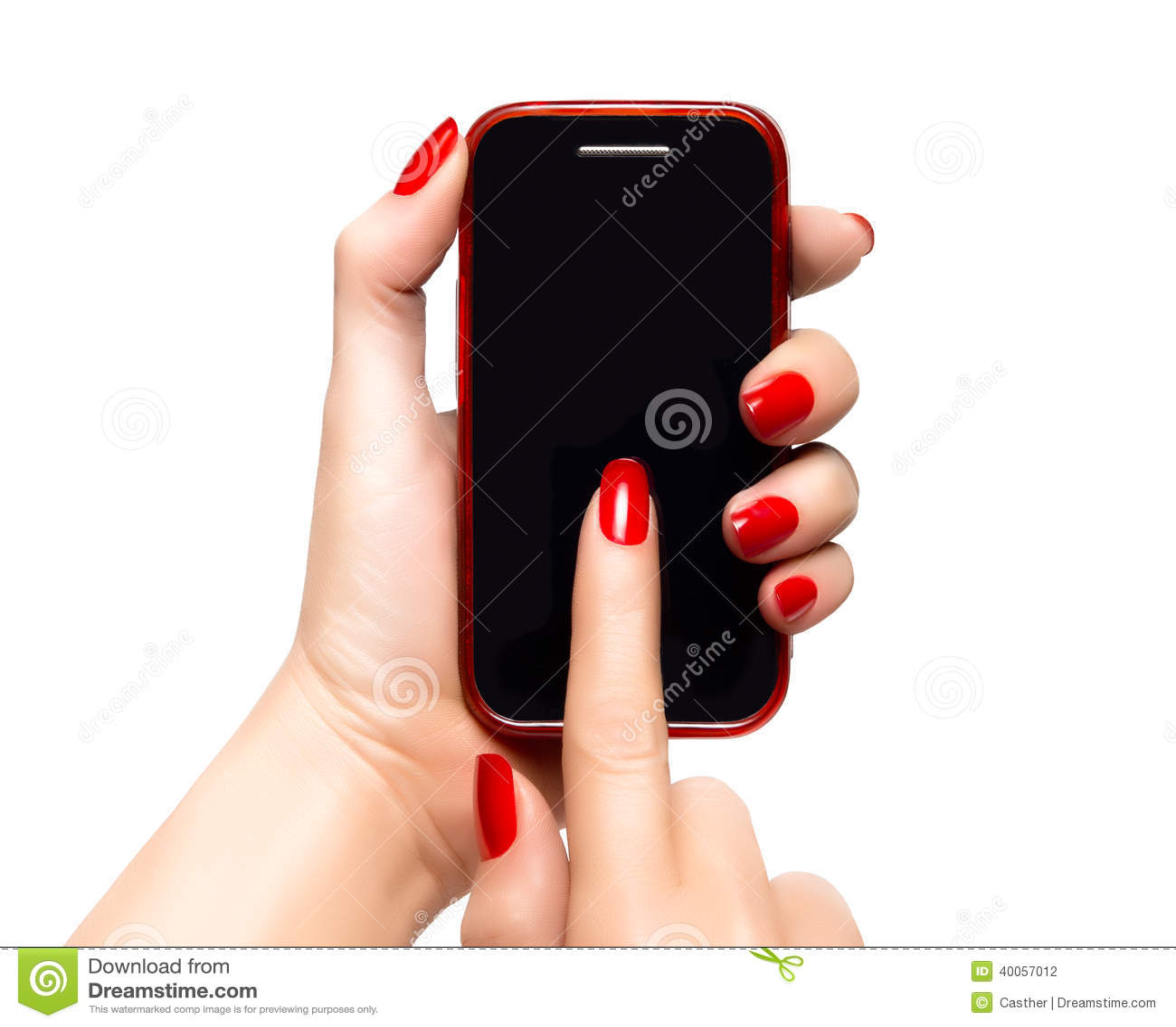 Маникюр ногти мобильные телефоны