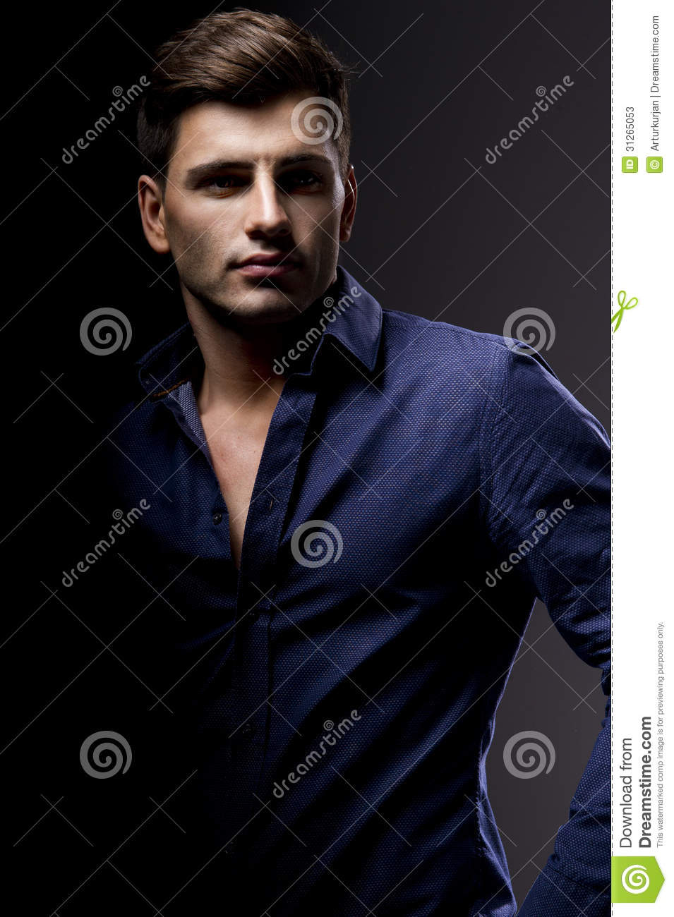 Elegant Young Handsome Man. Stock Photos - Image: 31265053