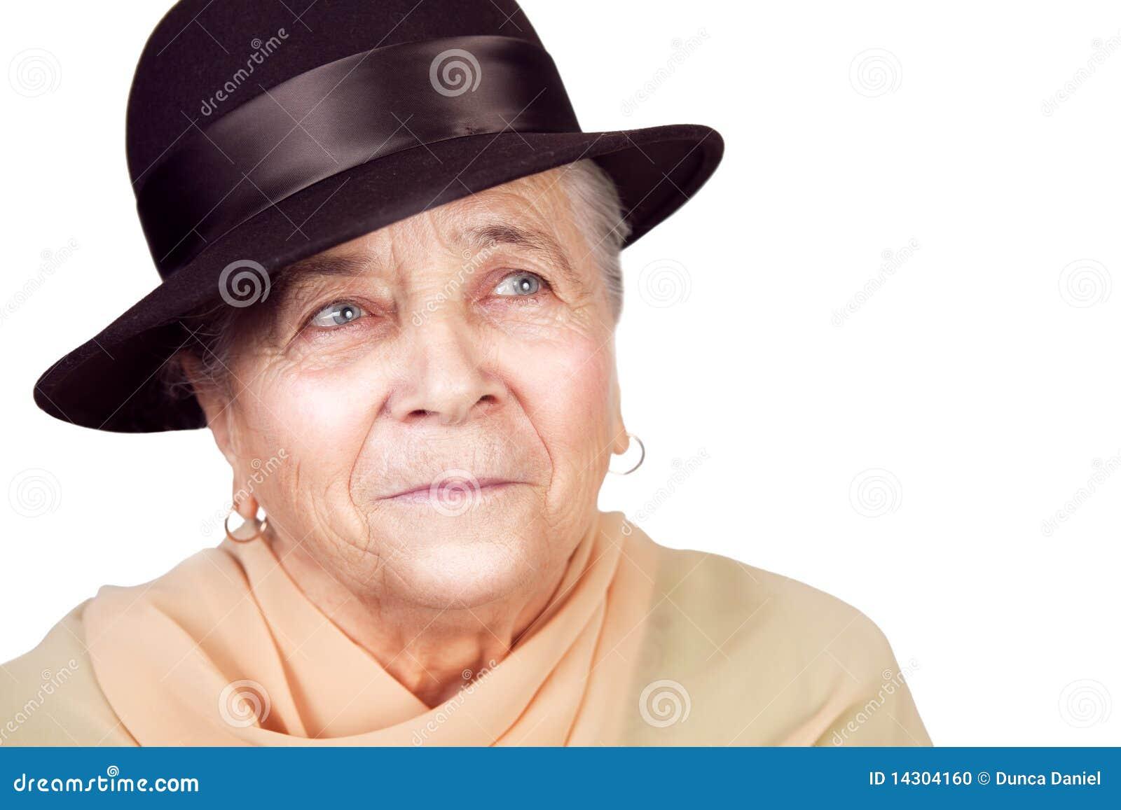 ältere Frau mit