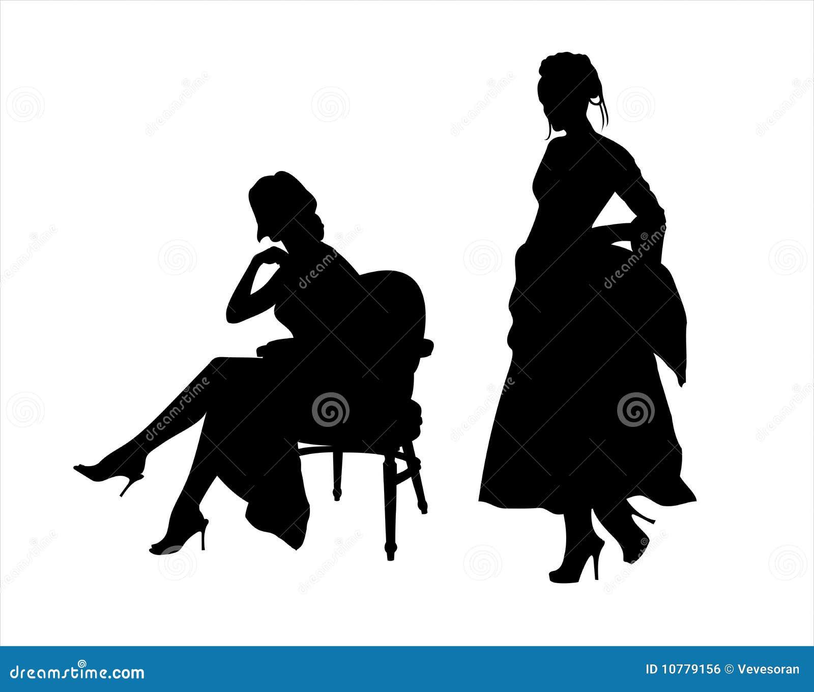 Elegante dames