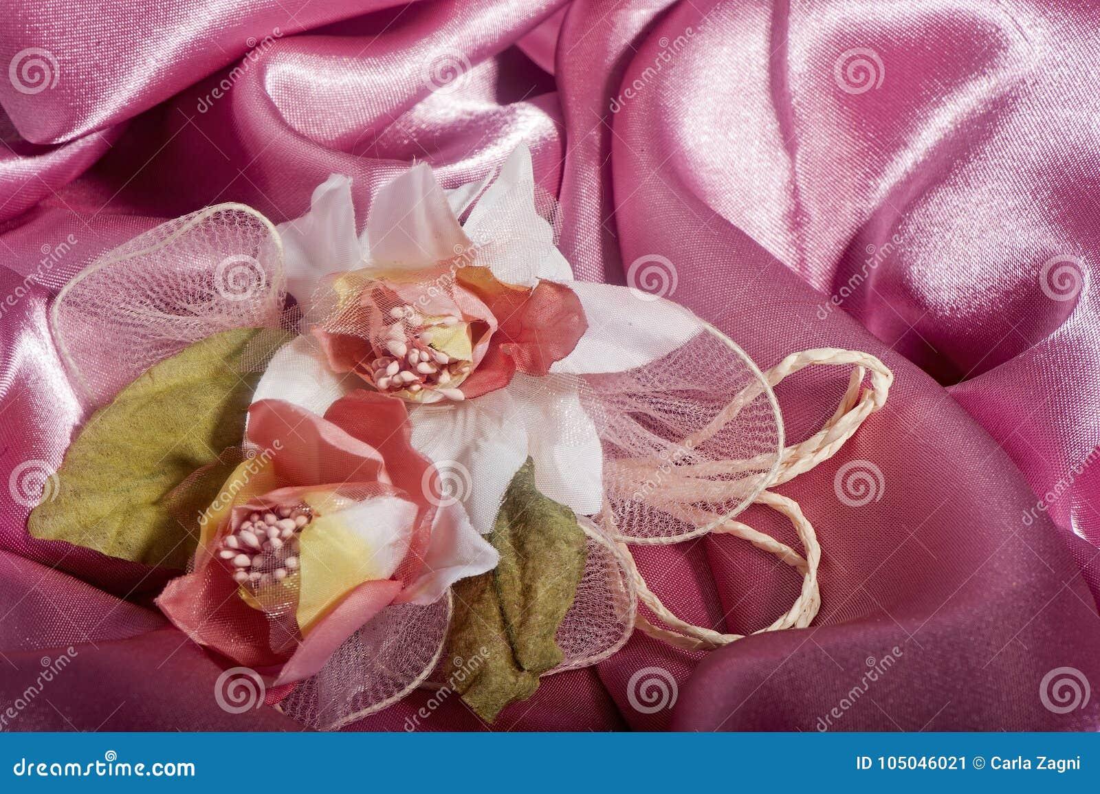 Elegante Hochzeitsbevorzugungen Stockbild Bild Von Geschenk