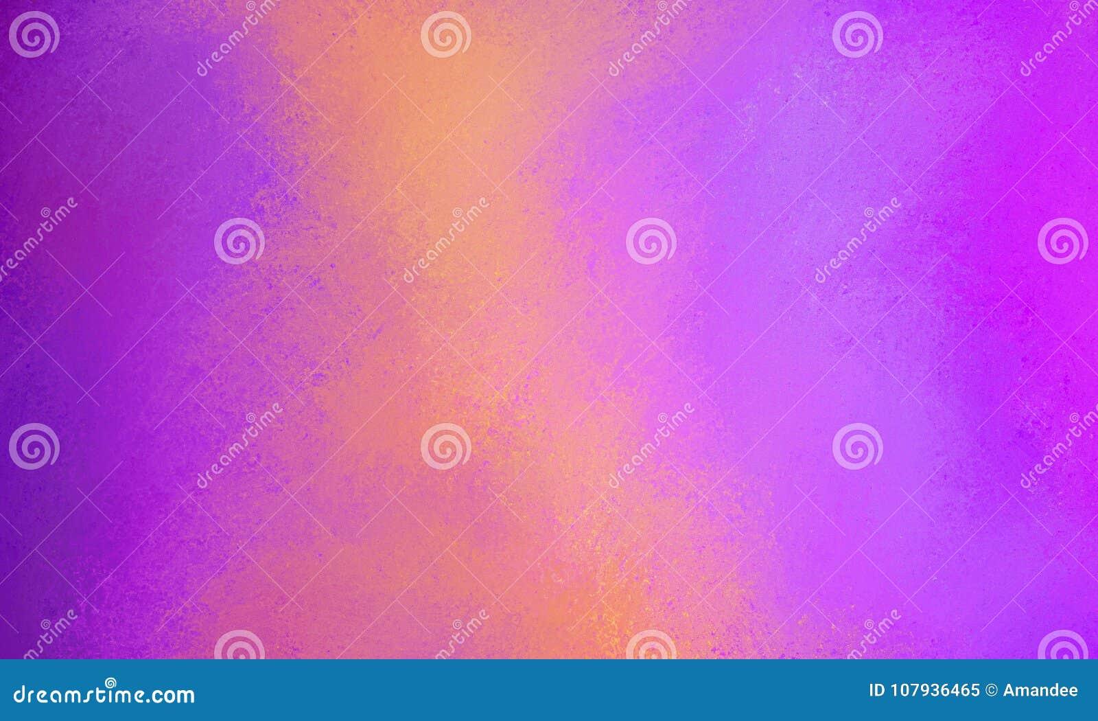 Elegante purpere roze achtergrond met oranje abstract streepontwerp met veel textuur, elegant geschilderd muurontwerp als achterg