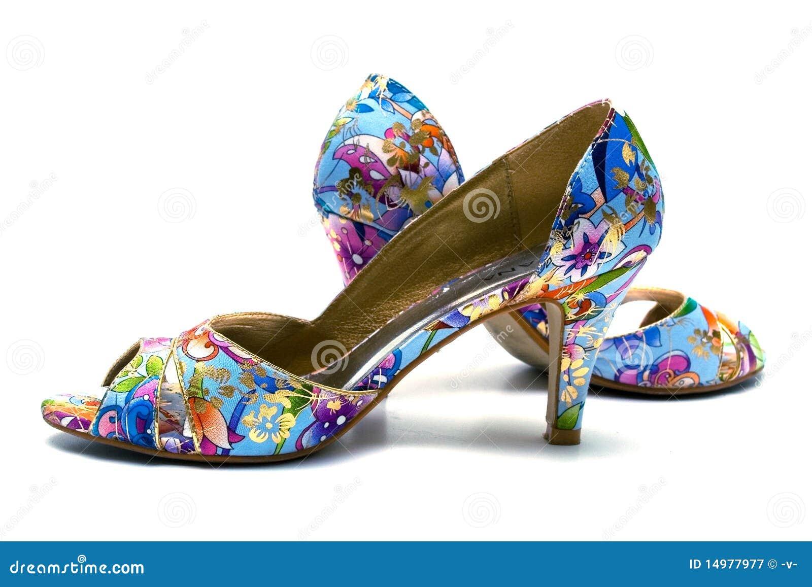 Elegante vrouwelijke schoenen