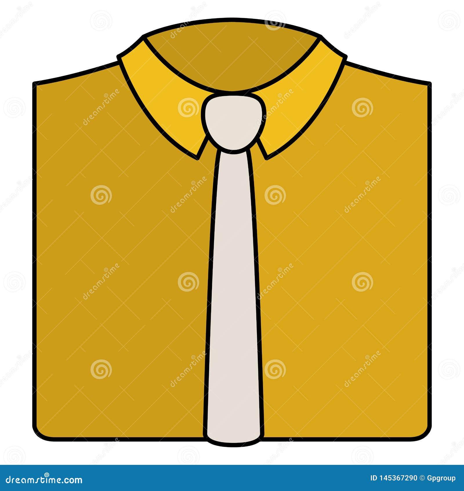 Elegantes Hemd mit Krawatte
