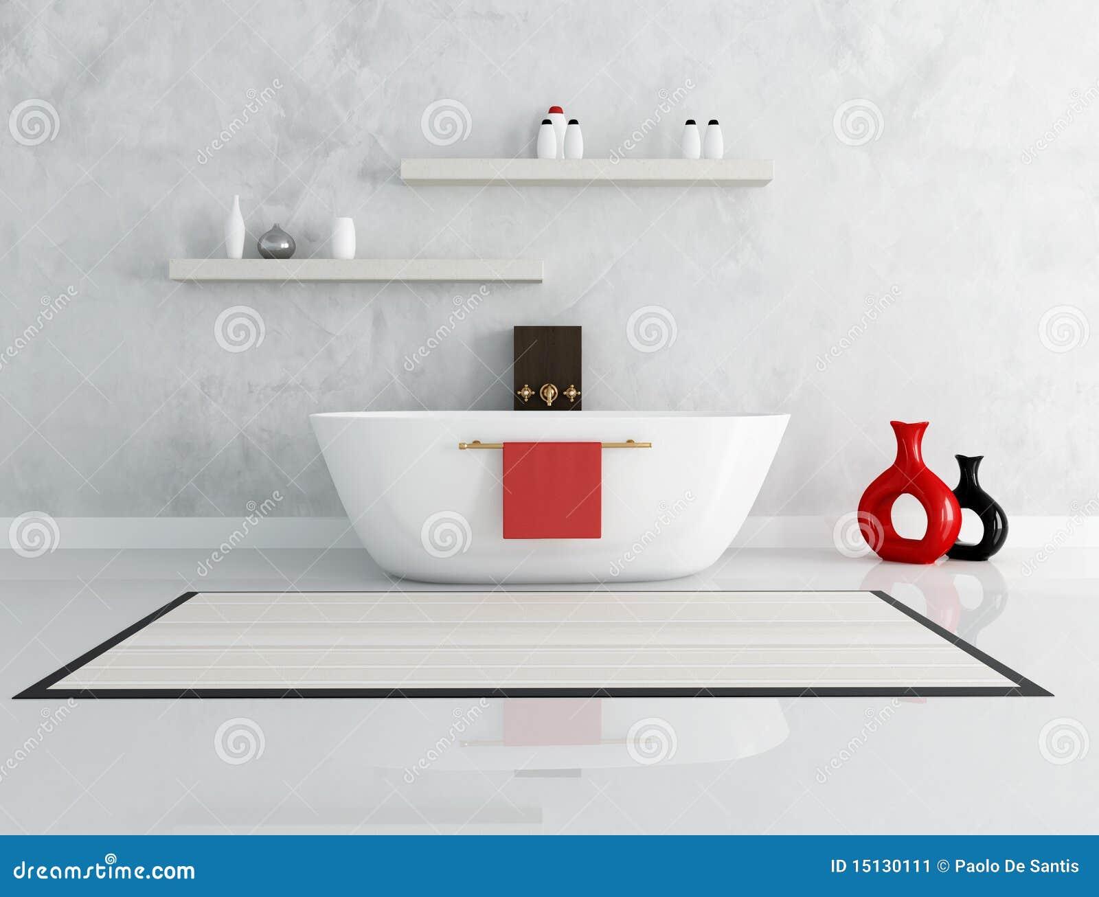 elegantes modernes badezimmer stockbild - bild: 15130111, Hause ideen