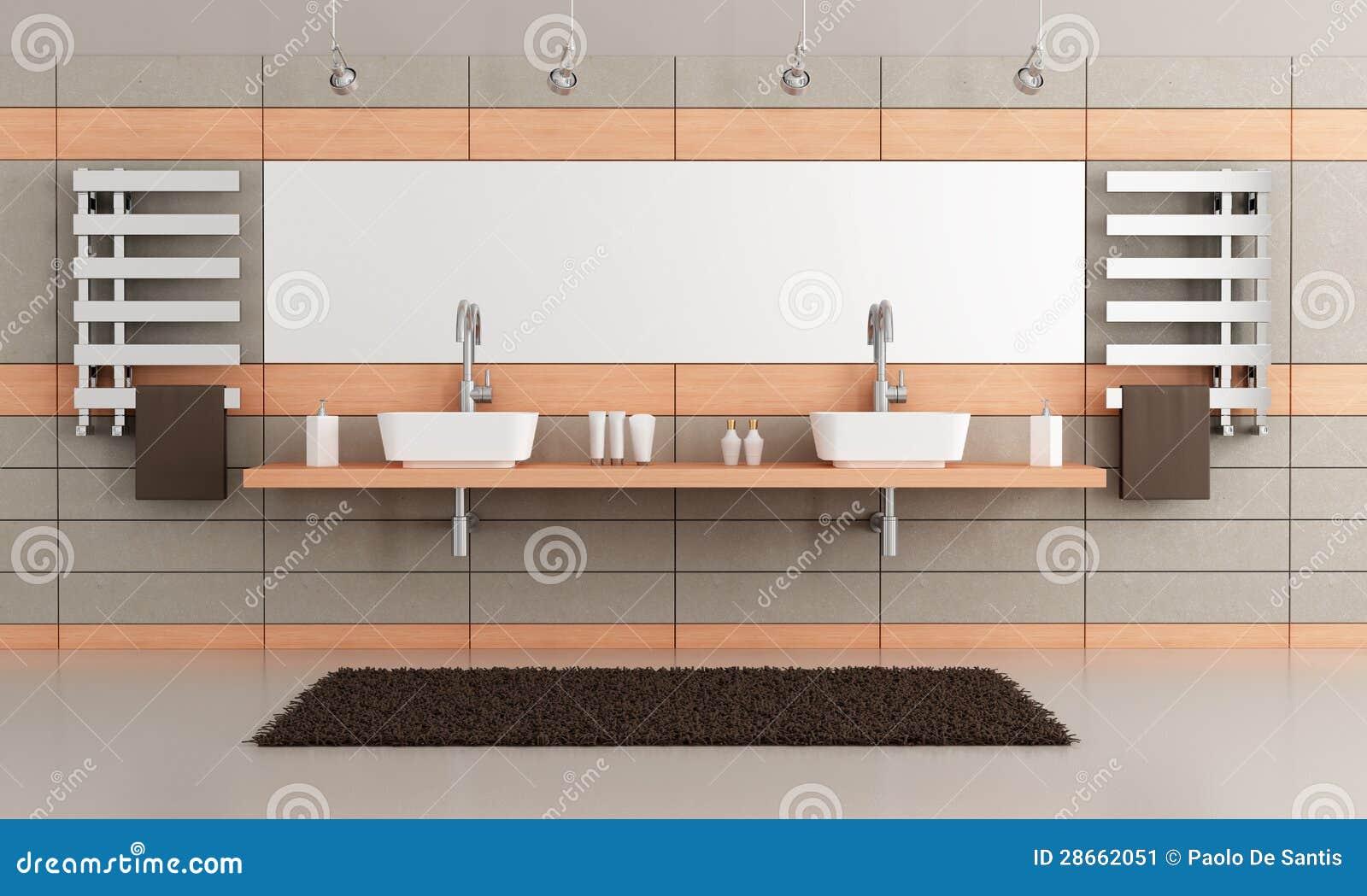 elegantes modernes badezimmer stockbild - bild: 28662051, Hause ideen