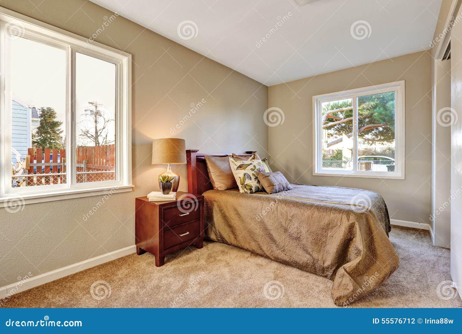 Genial Schlafzimmer Teppich Sammlung Von Pattern Elegantes Mit Und Bett Stockfoto -