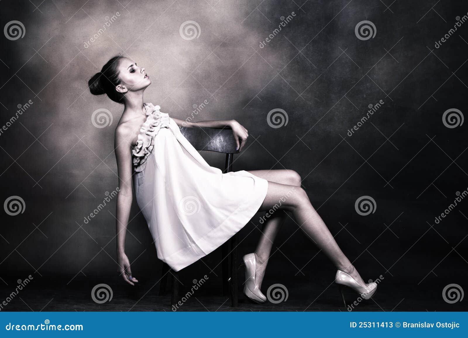 Elegantt kvinnabarn