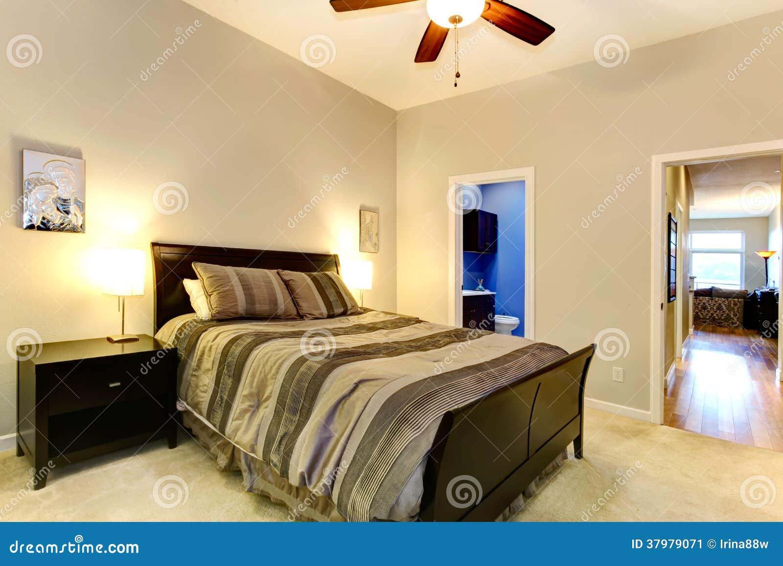 Elegent master bedroom stock image image 37979071 for Soft carpet for bedrooms