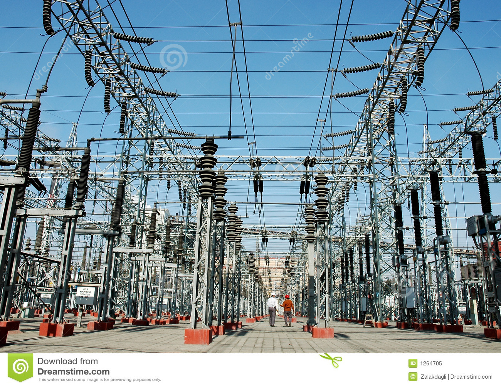Elektriciteit, de industrie, technologie, macht, power-line