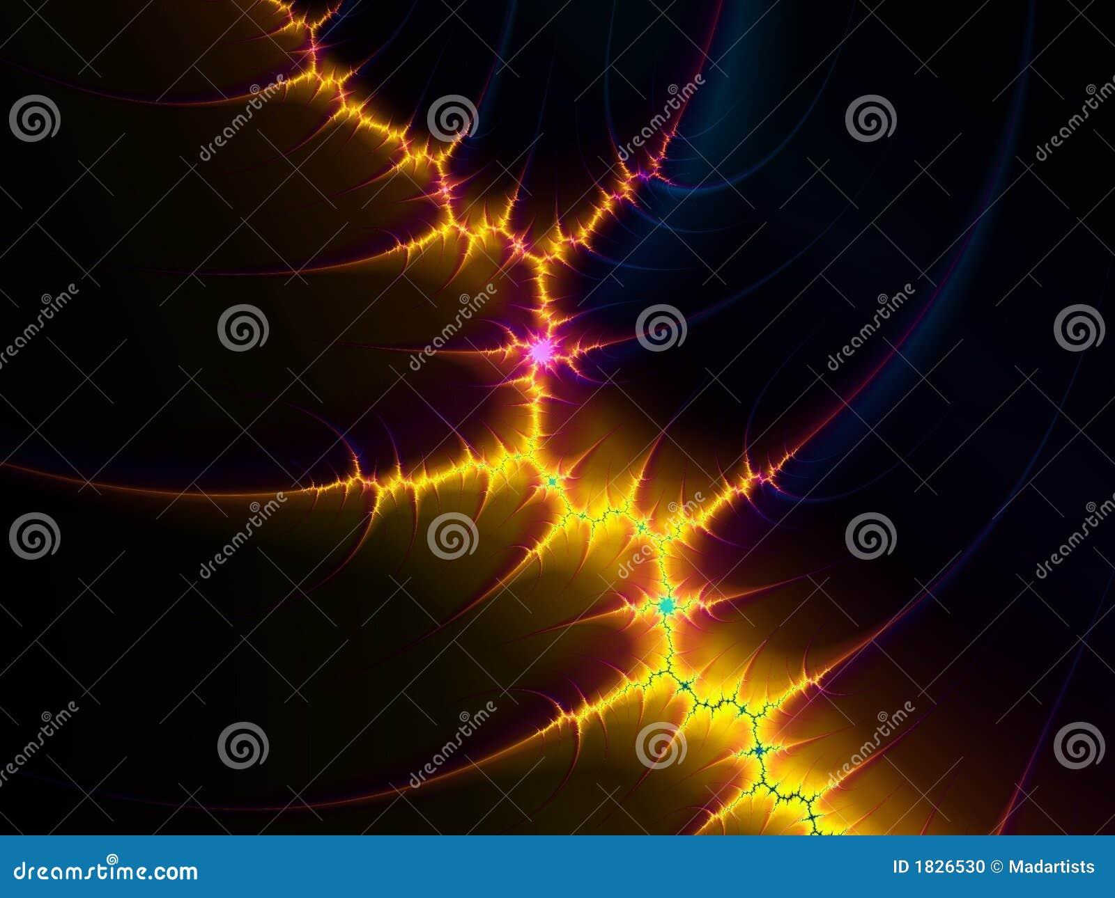 Elektricitetsfractalblixt