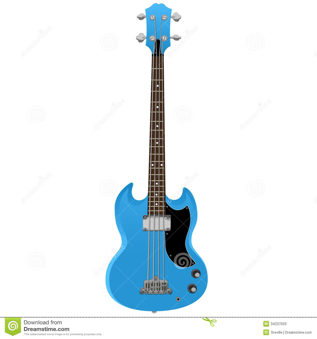 Elektrisch Bass Guitar