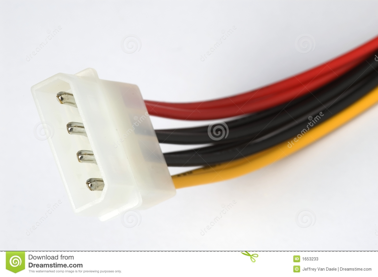 elektrische anschl sse des computers stockfotos bild. Black Bedroom Furniture Sets. Home Design Ideas