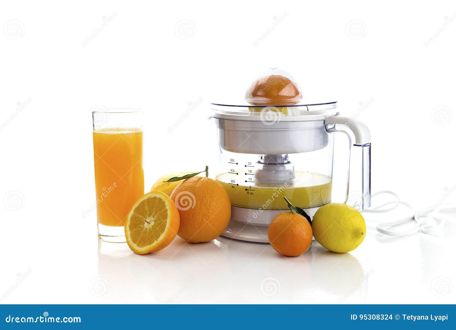 Elektrische citrusvrucht juicer